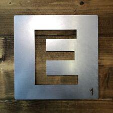 Verzinktem Metall Scrabble Buchstaben Fliesen Wanddekoration Kunst Individuell E