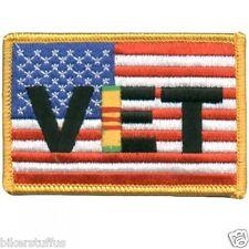 AMERICAN FLAG VET PATCH US Flag Viet Nam Vet Patch