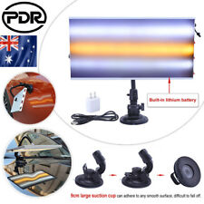 AU 3-strip PDR Paintless Dent Removal LED Line Board Built-in 7200ma Battery Kit