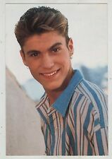 BEVERLY HILLS 90210 postcard cartolina BRIAN AUSTIN GREEN as DAVID SILVER 90's