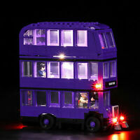 Kit de accesorios de bloques de construcción de LED Vonado para Lego Bus 75957