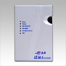 Sabrent External 12-in-1 USB 2.0 Flash Memory Card Reader/Writer