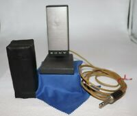 Vintage Sony Dynamic Microphone Model F-31 with A-7 Stand