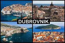 SOUVENIR FRIDGE MAGNET of DUBROVNIK CROATIA