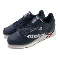 Reebok Classic Leather Altered MU Navy White Red Chalk Men Shoes Sneakers DV5050