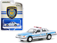 1994 FORD CROWN VICTORIA NYC TRANSIT POLICE CEREMONIAL CAR 1/64 GREENLIGHT 30160