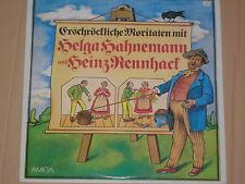 HELGA HAHNEMANN & HEINZ RENNHACK -Erschröckliche Moritaten- LP auf Amiga