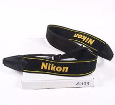 Correa para el Hombro Cámara Nikon Negro Amarillo 38mm (A1133)