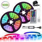 RGB LED Strip Leiste Streifen 5050 SMD Band Leuchte Lichter Lichterkette 1-20m