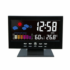 LED Wireless Weather Station Precision Forecast Temperature Humidity Barometer