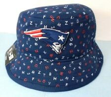 New England Patriots Boy's Toddler New Era Bucket Hat Cap Blue