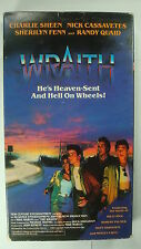 The Wraith Vtg VHS 1986 Pg13 Charlie Sheen Randy Quaid Music From Ozzy Idol Crue
