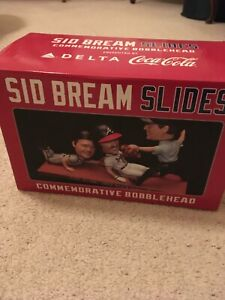 Sid Bream 2012 Atlanta Braves Bobblehead Sid Slides