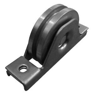 Rollen Laufrollen für T-Stahlprofil Ø78x20 mm Schiebetor Torrolle Führungsrole