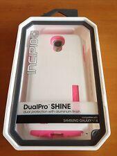 Incipio Dual Pro Shine (White/Pink) For Samsung Galaxy S4