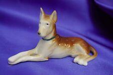 Antique Germany Porcelain Belgian Malinois German shepherd Elegant dog