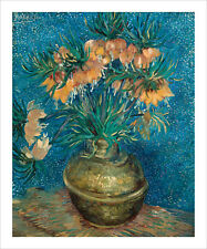 Van Gogh - Fritillaries in a Copper Vase fine art print poster various sizes