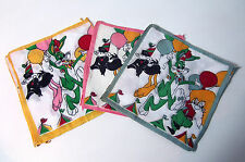 12 anciens mouchoirs Looney Tunes Bugs Bunny Vintage