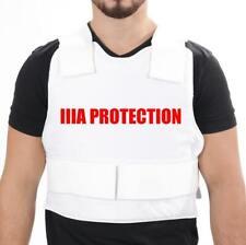 XL Israeli Bullet Proof Vest Level 3a - With 2x Anti Trauma Panels VIP