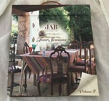 Jab Anstoetz Four Seasons Vol 8 Designer Fabric Sample Book Bright Colourful