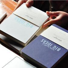 """Big Ideas"" 1pc Notebook Sketchbook Blank Paper Diary Journal Notepad Handbook"