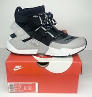Nike Air Huarache Gripp Men's Running Shoes Size US 7.5 Grey Black AO1730-004