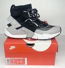 Nike Air Huarache Gripp Men's Running Shoes Size US 7.5 Grey Black AO1730-004