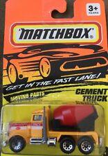 MATCHBOX Peterbilt Cement Truck Moving Parts MB 19