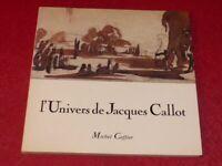[ART XVIIe] SCREPEL CARNETS DE DESSINS CAFFIER L'UNIVERS DE JACQUES CALLOT 1986