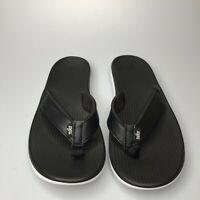 Nike Womens Bella Kai Thong A03622 002 Flip Flop White Black Sandal Size US 7