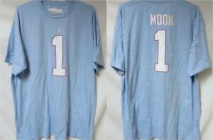 Houston Oilers Warren Moon #1 Men's Size 2X-Large  T-Shirt A1 3862