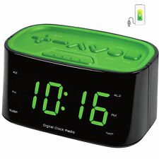 led digital alarm clocks ebay. Black Bedroom Furniture Sets. Home Design Ideas