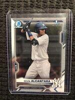 2021 Bowman Kevin Alcantara 1st Chrome Prospect RC #BCP97 New York Yankees QTY