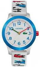 Lacoste | Kinderen 12.12 | Witte Rubberen Band Met 2030021 Horloge