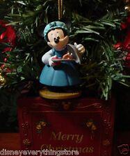 DISNEY MICKEY'S CHRISTMAS CAROL MINNIE MOUSE EMILY CRACHIT CUSTOM ORNAMENT NEW