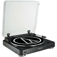 Audio-Technica Consumer AT-LP60BK-BT Turntable with Bluetooth (Black)