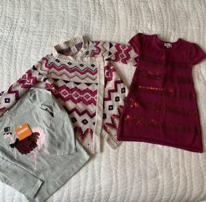 NWT Gymboree Girls Size 4 XS Top Sweater Dress EUC Lot