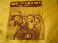 Sheet Music-Along the Navajo Trail-by L.Markes-D.Charles & E.D.Lange-1945.