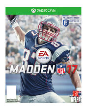 Madden 2017 Xbox One EA Sports, Used one time