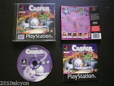 JEU Sony PLAYSTATION PS1 PS2 CASPER FRIENDS AROUND THE WORLD (Tdk COMPLET suivi)