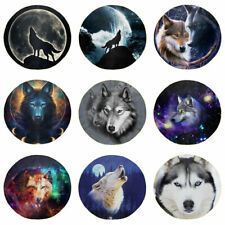 Wolf Couch Throw Round Blankets for Bed Sleep Bedding Reduce Stress Soft Covers
