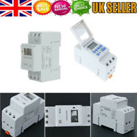 UK Electronic Switch Weekly Programmable Digital Switch Relay Timer Controller