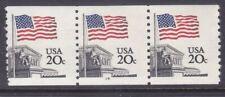 US 1895 MNH 1985 20¢ Flag over Supreme Court PNC 3 Plate #14