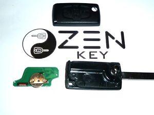 4 button Remote Key fob for Peugeot 806 Citroen c8 wit sliding doors 433mhz id46