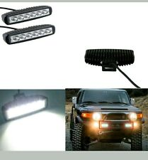 2*6 LED Fog Light / Work Light Bar Spot Beam Off Road Driving Lamp 18W CREE....