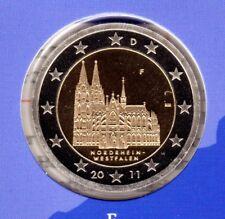 Deutschland  2 Euromünze Kölner Dom-F -2011 In PP Bankfrisch