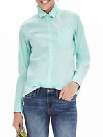 NWT Banana Republic New $68.00 Women Dillon-Fit One-Pocket Shirt Size Small