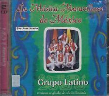 Grupo Latino La Musica Maravillosa De Mexico 2CD New Nuevo Sealed