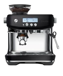 Breville BES878BTR Barista Pro Espresso Machine, Black Truffle