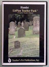 Hamlet litplan teacher pack Cd Rom pc/mac